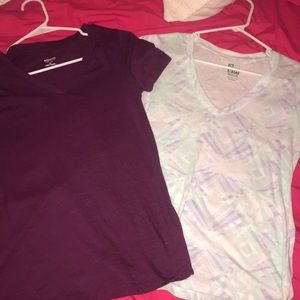 Two T-shirt's